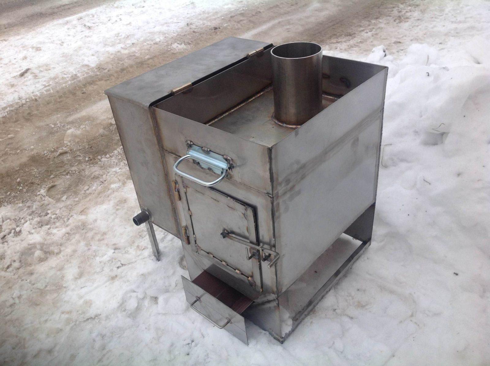 Металл печь для бани