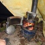 Печь для палатки