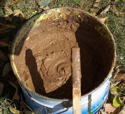 Приготовить глину для печи