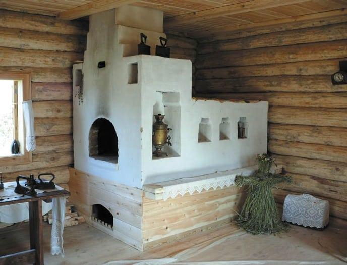 русская печь фото