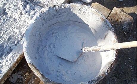 раствор для кладки печи известковый