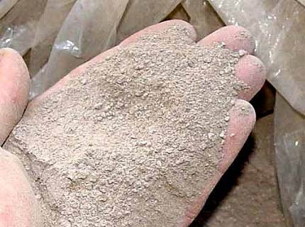 шамотная глина для печи