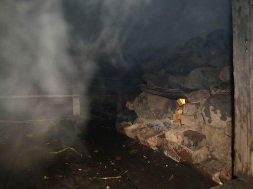 Дым в бане
