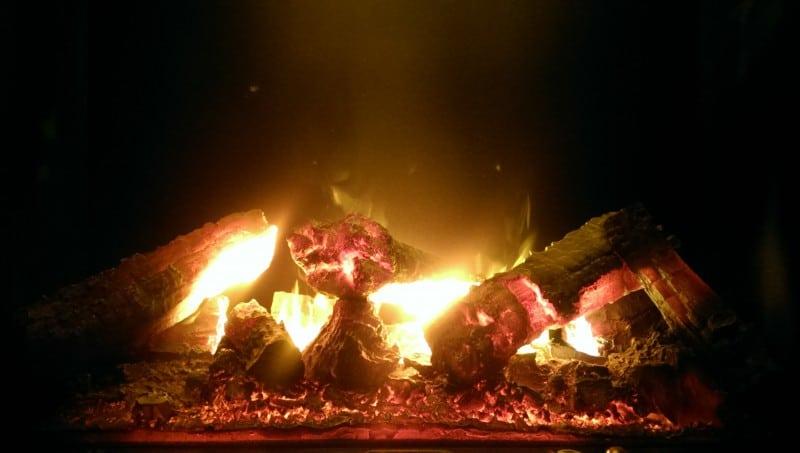 Эффект живого огня
