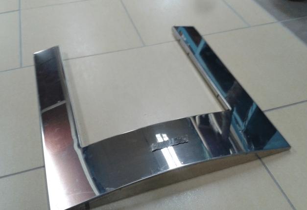 Экран фронтальный для банной печи