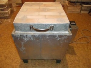 Электропечь для обжига глины своими руками