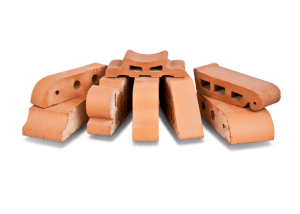 Кирпич керамический рядовой полнотелый профильный