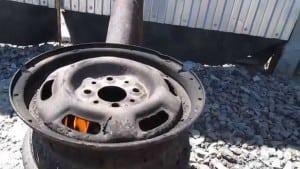 Печка из колесных дисков своими руками фото 94