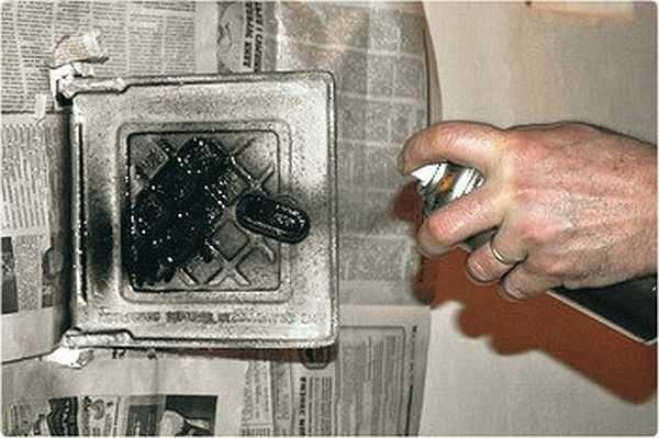 Чем покрасить печь после штукатурки