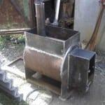Самодельные печи для бани из металла
