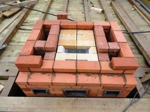 кирпичная печная конструкция