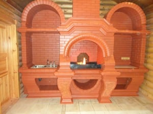 Виды печек из кирпича для дома