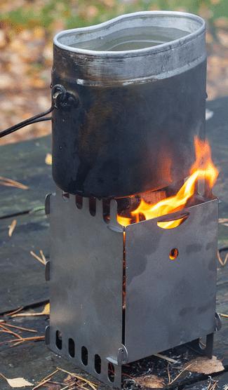 Как в походе сделать печь