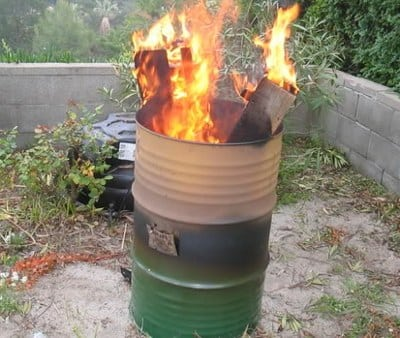 Печь для сжигания мусора на даче своими руками из бочки фото 362