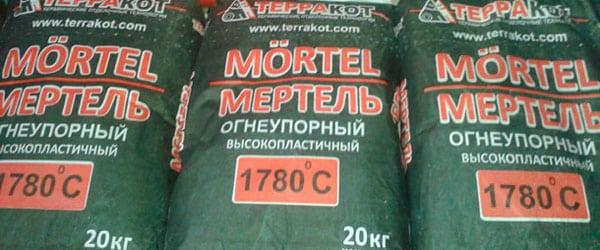 жаропрочный клей для печей и каминов