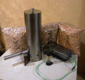 Дымогенератор и сырье