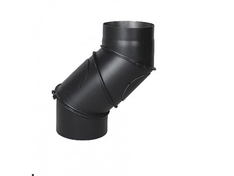 Дымоход из чёрного металла