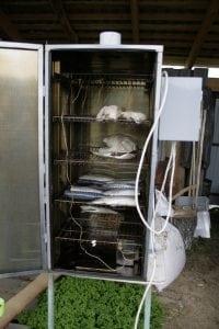 Электрокоптильня из холодильника своими руками