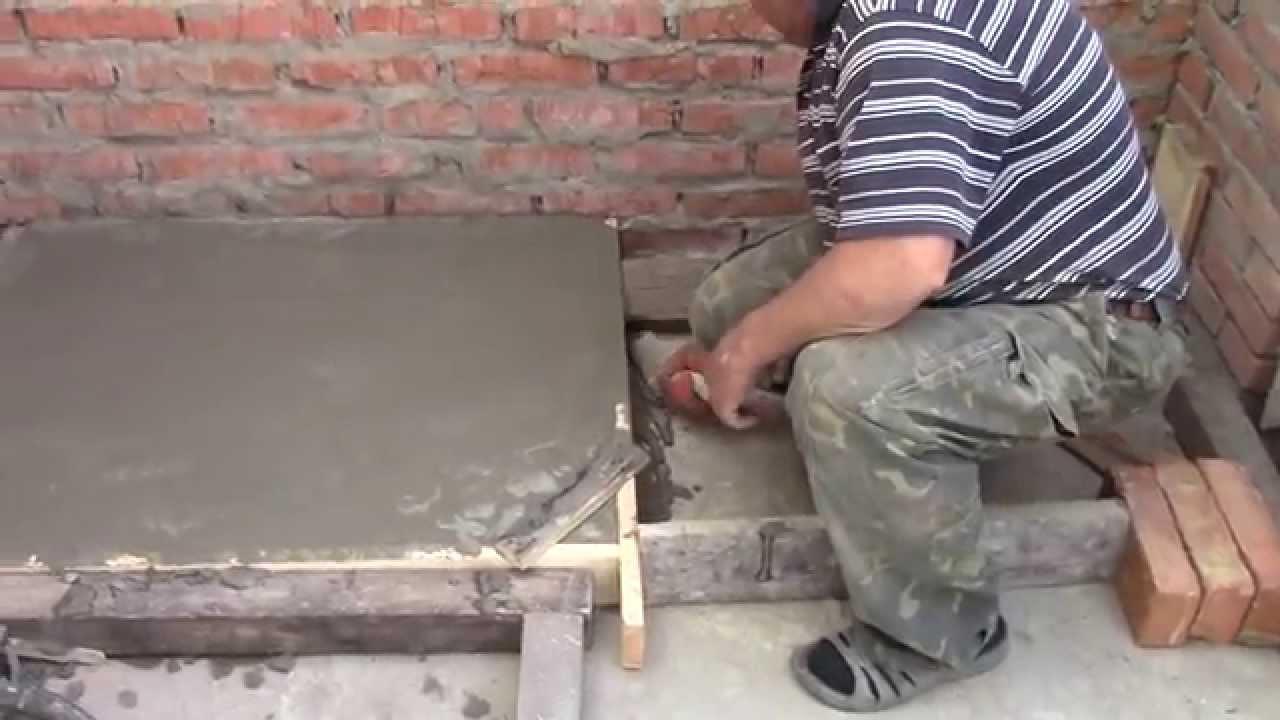 Фундамент под дачную печь