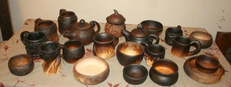 Глинянная посуда для печи