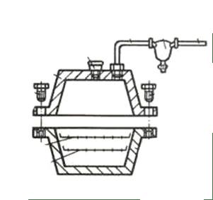 Коптильня для газовой плиты схема