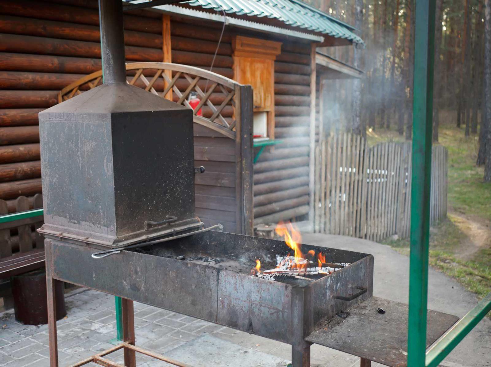 Как сделать барбекю из металла