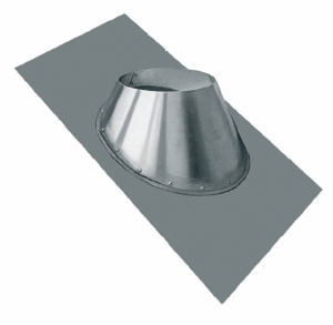Как изолировать трубу дымохода в перекрытии