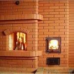 Печь дровяная для дома