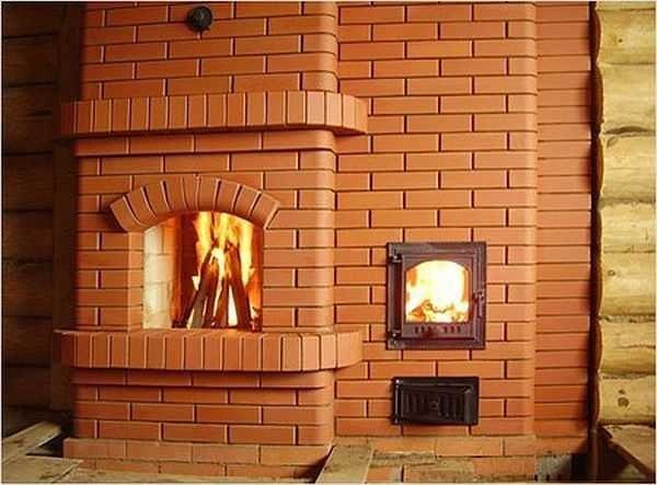 Печь для дома на дровах из кирпича своими руками