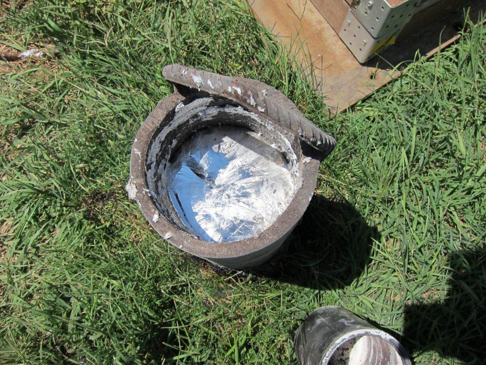 Делаем печь для плавки алюминия своими руками