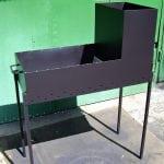 Простая мангал-печь из металла