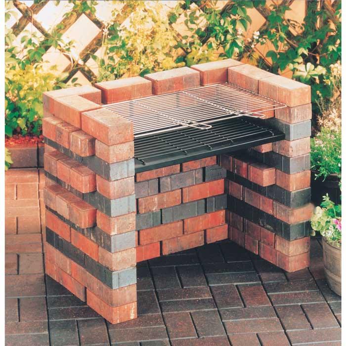 постройка мангала на даче своими руками