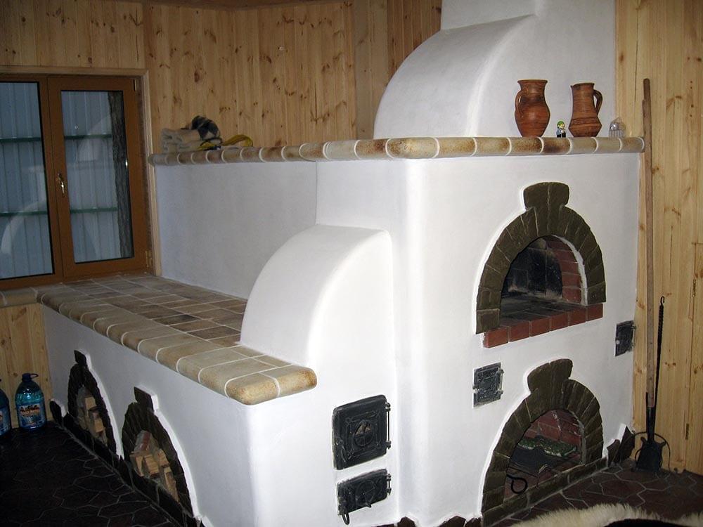 фото русские печи с лежанкой
