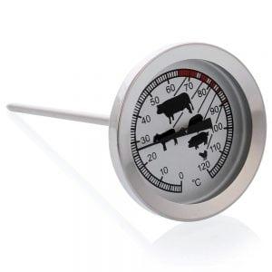 Термометр для коптильни с указанием времени копчения