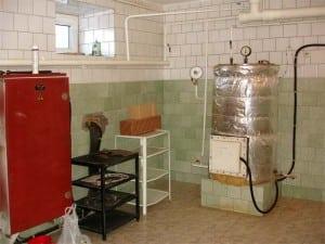 Топочная комната в частном доме