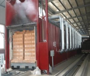 Туннельная печь промышленная