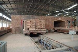 Туннельная печь с вагонетко