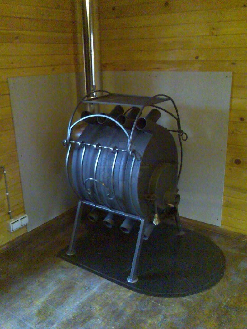 Схема газогенераторной печи
