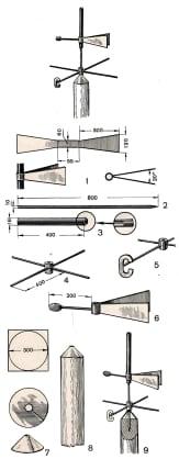 флюгер схема