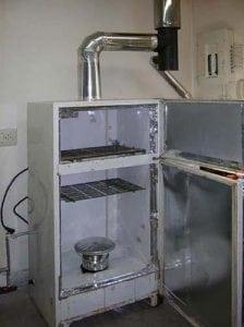 коптильня горячего копчения холодильник