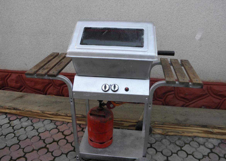 Газовый мангал для шашлыка своими руками