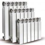 Алюминевые радиаторы, количество секция