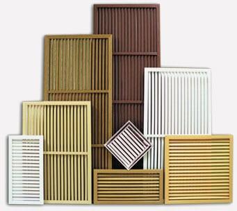 Деревянные виды решеток для радиаторов отопления