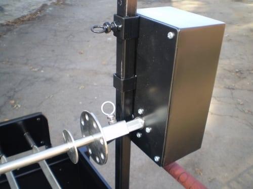 Электропривод для мангала