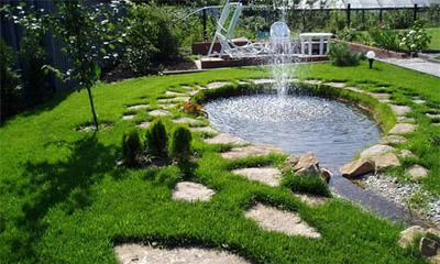 Фонтан на солнечных батареях для садовых прудов своими руками