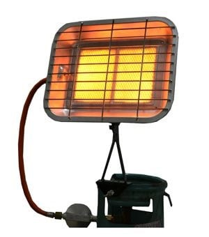 Газовые инфракрасные обогреватели для дачи и гаража своими руками