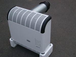 Газовый конвекторный обогреватель