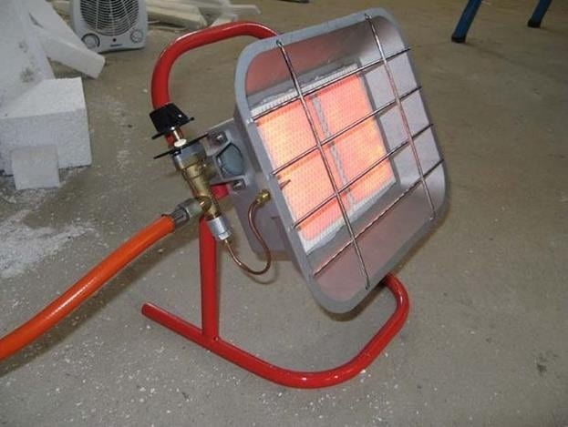 Газовый отопитель в гараж