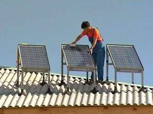 Характеристики и схема подключения солнечных батарей