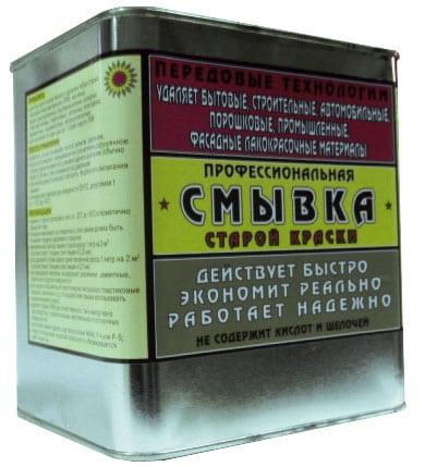 Химическое средство для снятия старой краски
